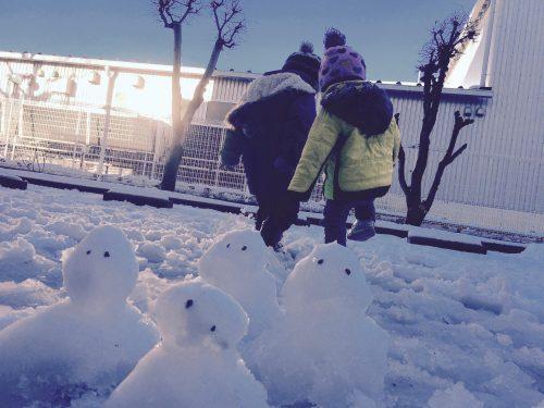 こどもになって雪遊びを楽しもう!