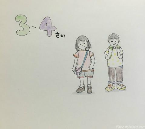 3-4さい