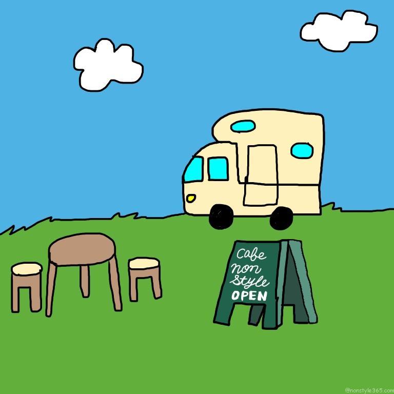 移動カフェ