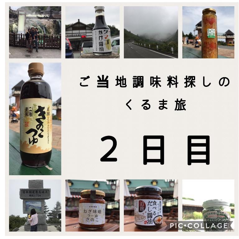 【くるま旅2日目】群馬〜長野