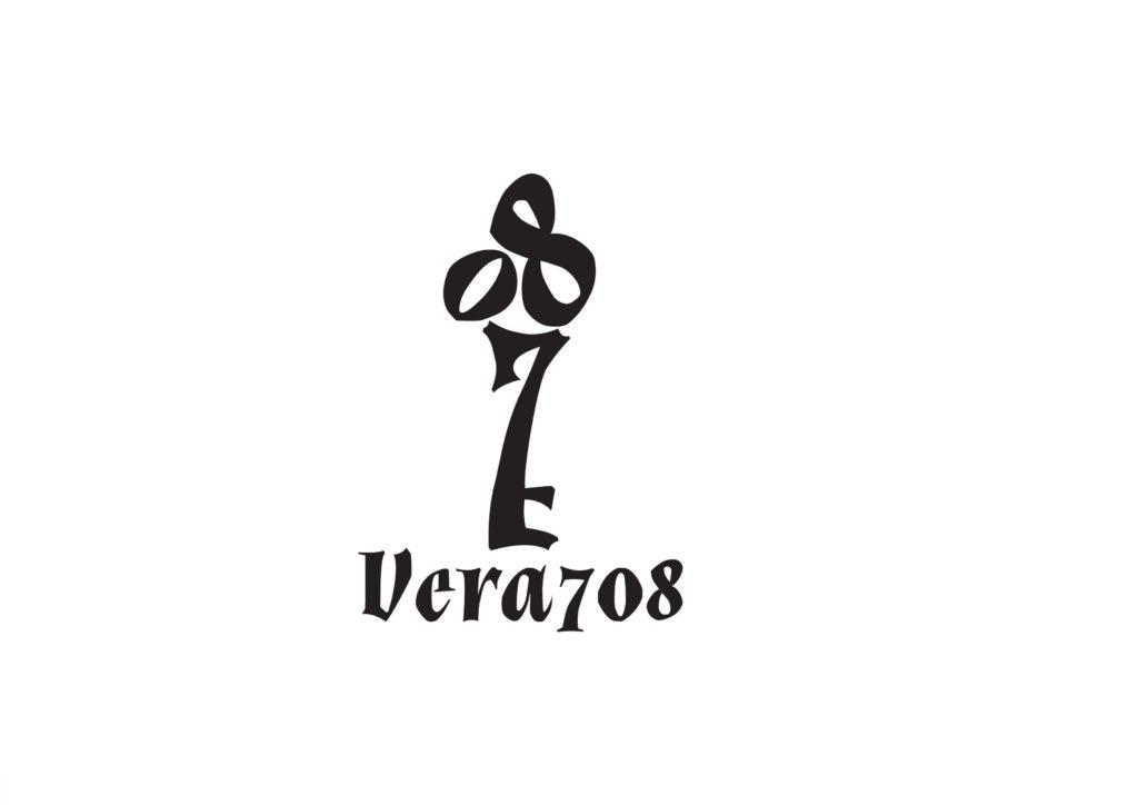 身も心も癒されたい女性のためのよもぎ蒸し&もみほぐし 浦添市城間の自宅サロンVera708【ロゴ&名刺&カウンセリングシート】