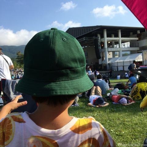 夏フェス帽子