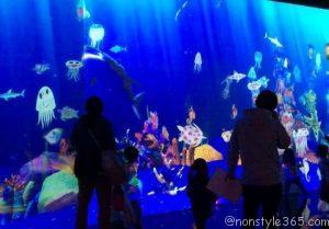 お絵描き水族館